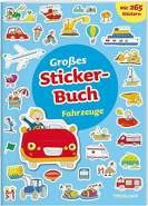Großes Stickerbuch,Fahrzeuge