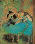 International Publishing 0901N26099B - Danseuses En Bleues, Klassische Puzzle