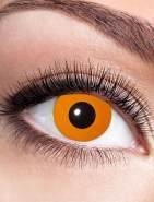 Kontaktlinsen Halloween Orange