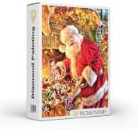 Picmondoo - Diamond Painting Großzügiger Weihnachtsmann 40x60cm