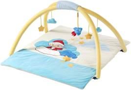 Unser Sandmännchen 658578 Sandmann Baby Decke mit Spielbogen