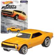 Cars Mattel GBW75 - '67 Chevrolet Camaro - Fast & Furious 1/4 Mile Muscle | Hot Wheels Premium Auto Set