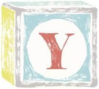 Lilipinso Sticker Buchstabe auf Spielwürfel Y