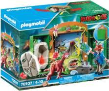 Playmobil Dinos 70507 Spielbox ''Dinoforscher'', 59 Teile, ab 4 Jahren