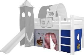 Mobi Furniture 'Höhle Pirat' 3tlg. Hochbett-Vorhang-Set