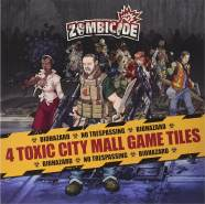 Asmodee 901567 - Zombicide: Toxic City Mall Tiles expansion - Erweiterung