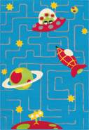 Lol Kids 4420 Multi / Blau 100x150 cm