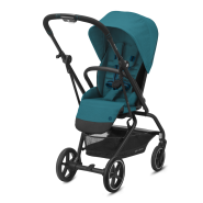 CYBEX Gold 'EEZY S TWIST+ 2' Buggy 2021 Black/River Blue
