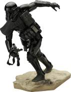 Noble Collection Star Wars ARTFX+ Statue Death Trooper