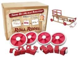 Roll Rodel Bausatz, Tuning-Set für Holzschlitten