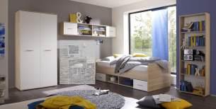 Jugendzimmer-Set NANU 4tlg. Komplettset