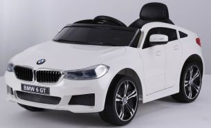 Kinder Elektro Auto BMW 6er GT FB Model, weiß