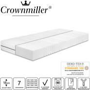 """""""Crownmiller Silber KS - Komfortschaummatratze H2, 100x200 cm"""""""
