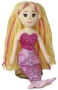 Aurora World 33045 - Sea Sparkles - Meerjungfrau Melody, 26 cm