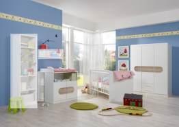 Babyzimmer-Set LILLY 3tlg Bett Komplettset