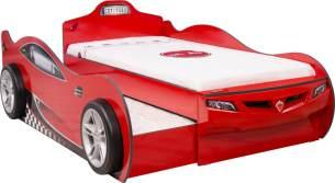 Cilek 'Coupe' Autobett rot 90x190 inkl. 2x Matratze