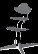 Evomove 'Nomi' Kunststoffelemente für Hochstuhl, Grey