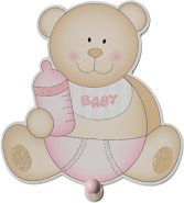 Bieco 'Baby Bär' Garderobe rosa