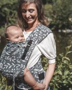 LIMAS Plus Babytrage Flora Cool Grey