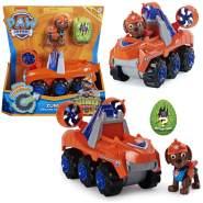 Dino Rescue Einsatzfahrzeug | Rev-Up, Dino und Spielfiguren | Paw Patrol Zuma