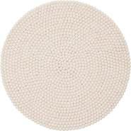 myfelt 'Linéa' Filzkugelteppich 70 cm