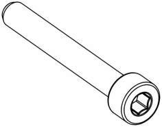 Zylinderkopf Innensechskantschraube M4x30 mm