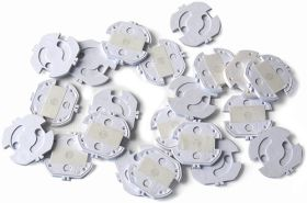 Reer Steckdosenschutz, klebbar, 20 Stück