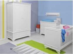 BOPITA 'Charlotte' 4tlg. Babyzimmer Set, weiß