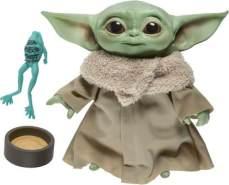 Hasbro Star Wars The Child 'Baby Yoda' Plüsch-Figur mit Sounds und Accessoires,19 cm Groß