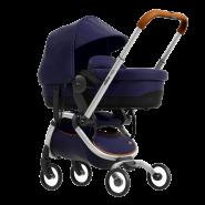 Mima Zigi Buggy + Gratis Babywanne + Adapter + Regenschutz Midnight Blue