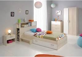 PARISOT 'Charly' 4-tlg. Kinderzimmer-Set mit Bettkasten