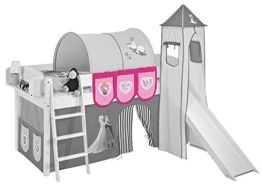 Lilokids 'Eiskönigin' Hängetaschen Rosa - für Hochbett, Spielbett und Etagenbett