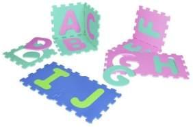 Besttoy - Soft Puzzlematte - Buchstaben A-Z - 26 Teile