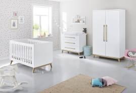 Pinolino 'Riva' 3-tlg. Babyzimmer-Set weiß