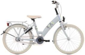Bike Fun Lots Of Love, 20 Zoll 30 cm Mädchen 3G Felgenbremse Hellblau/Grau