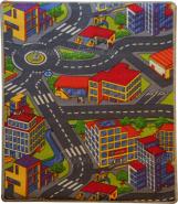 Kinderteppich Spielstraße 80x120 cm
