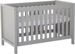 Quax 'Stripes Griffin' 3-tlg. Babyzimmer-Set Grey 70x140 cm, 3-Türig