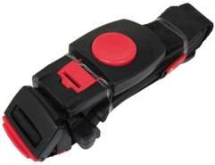 HAMAX Kinder Sicherheitsgurt-2122801615 Sicherheitsgurt, schwarz, 40 x 10 x 10 cm