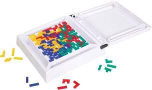Mattel Kompakt Blokus, Spiel ab 7 Jahren