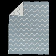 Fresk 'Waves' gestrickte Decke 80x100 cm