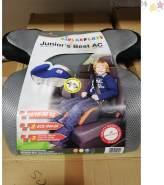 Kindersitzerhöhung Juniors Best Hellgrau