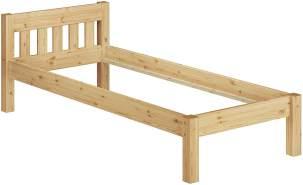 Erst-Holz Kinderbett Kiefer natur 90x190