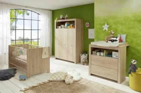 Stylefy Olinda Kinderzimmer-Set II Eiche Sägerau Hell Eiche Sägerau Hell