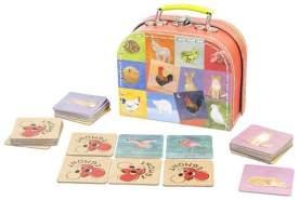Egmont Toys Kinder-Memo-Spiel mit Gegensätzen, Memoryspiel Motiv: Tiere Maße: 16 x 13 x 7 cm