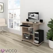VICCO 'Harm' Schreibtisch, Sonoma, rollbar