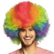 Boland Perücke Clown Rainbow DeluxeEinheitsgröße mehrfarbig