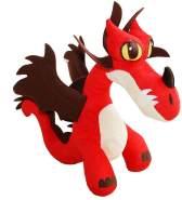 Hakenzahn Drache Plüsch Figur 34x14x33cm DreamWorks Dragons Hookfang