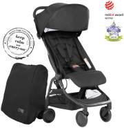 Mountain Buggy 'Nano V3' Reisebuggy 2020 Black inkl. Reisetasche