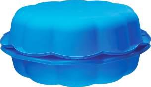 Starplay 'Sand- und Wassermuschel', Sandkasten / Planschbecken, 94 x 91,5 x 22 cm, ab 1,5 Jahren, 2-teilig, blau