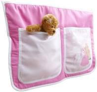 Ticaa Bett-Tasche für Hoch- und Etagenbetten - horse pink